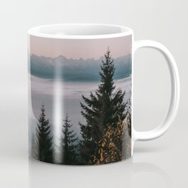 Faraway Mountains - Landscape and Nature Photography Coffee Mug