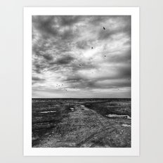 | Never-ending No. 40 - or the crow song at the edge of the world | Art Print