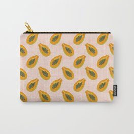 Papaya in sunset Carry-All Pouch
