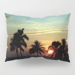 Sunset at Mauna Kea Beach, Hawaii Sky Pillow Sham