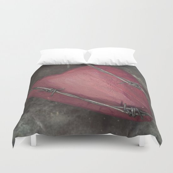Trapped Heart II Duvet Cover
