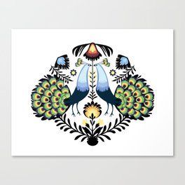 Peacocks Canvas Print