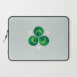 White Clover Laptop Sleeve