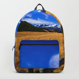 Distant Bighorns - Mountain Scenery in Northern Wyoming Backpack