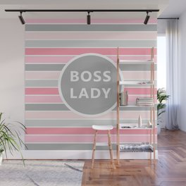 Boss Lady Wall Mural