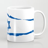 israel Mugs featuring israel by mark ashkenazi
