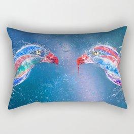 Love Splash Rectangular Pillow
