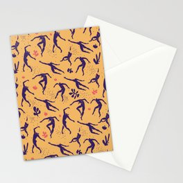 matisse pattern with dancers Stationery Cards