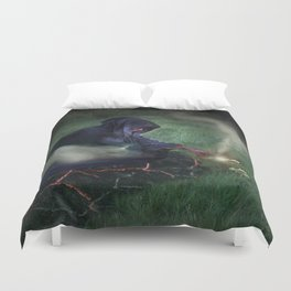 The Epitome of Man Duvet Cover