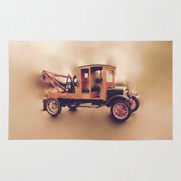Vintage Model T Wrecker Rug