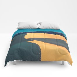 the geometry of death valley light Comforters