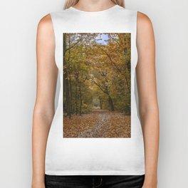 Autumn forest II Biker Tank