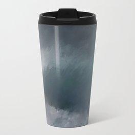 Blue Stormy Sea Travel Mug