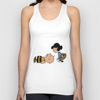 charlie brown Tank Tops featuring Charlie Brown by Lucas de Souza