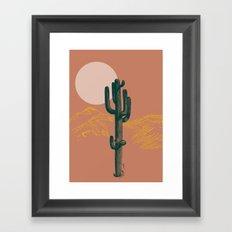hace calor? Framed Art Print