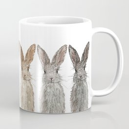 Triple Bunnies Coffee Mug