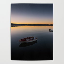 Sunrise over Knysna Lagoon in Western Cape, South Africa Poster
