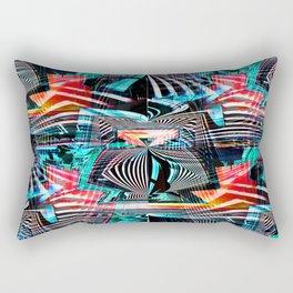 Urban Mutations Rectangular Pillow