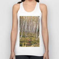 helen Tank Tops featuring Regrowth from Mount Saint Helen by Amanda Picotte