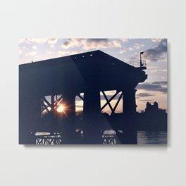 Greenwich Sunset (2) Metal Print