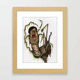 The Thing Takes Norris Framed Art Print