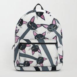 Barmuda Whimsical Cats Backpack
