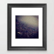 Urban Rainstorm 2 Framed Art Print