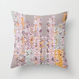 CDS Logo Pattern Throw Pillow