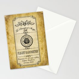 Steampunk Apothecary Shoppe - Barometer Stationery Cards