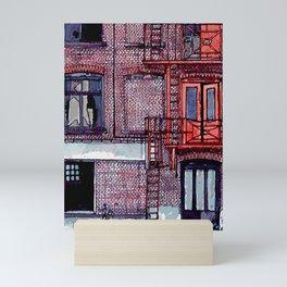 WAREHOUSE Mini Art Print
