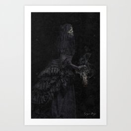 The Mourning Art Print