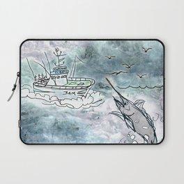 Fishing swordfish Laptop Sleeve