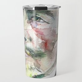 JOSEPH CONRAD - watercolor portrait Travel Mug