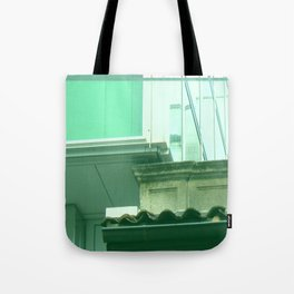 ebony & ivory Tote Bag