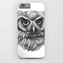 Intense Owl G137 iPhone Case