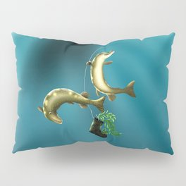 Mischievous Pikes Pillow Sham