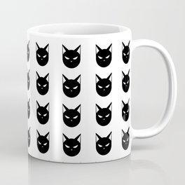 Angry Kitty Pattern Coffee Mug