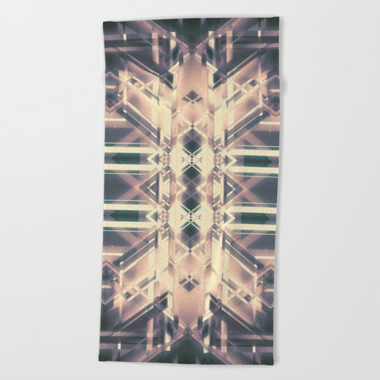 Downtrodden Beach Towel