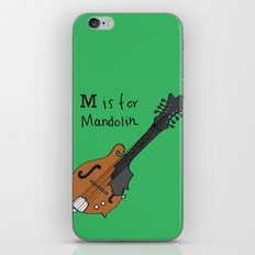 M is for Mandolin iPhone & iPod Skin
