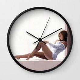 Impressionist Pin up Wall Clock