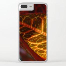 sanguine Clear iPhone Case