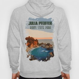 Julia Pfeiffer state park, California Hoody