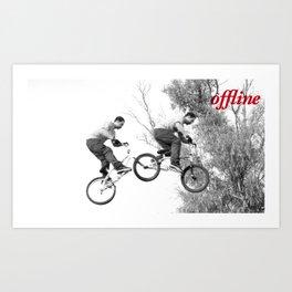 Offline III Art Print