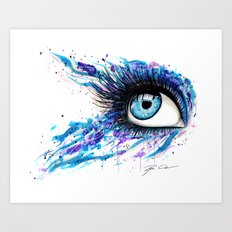 Open your eyes Art Print
