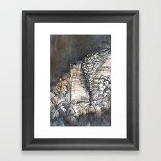 Stairway, Summerhill Glen. Framed Art Print