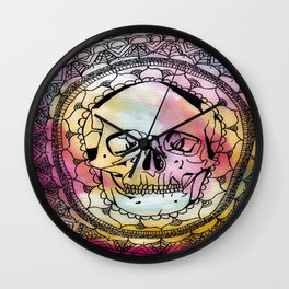 Kalediscope Nightmare Wall Clock