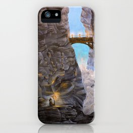 Cliff Side Wonders iPhone Case