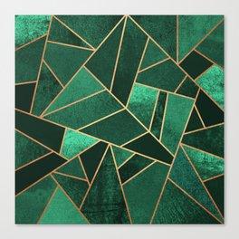 Emerald and Copper Leinwanddruck