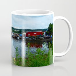 Fisherman's Wharf in Cape Breton Coffee Mug