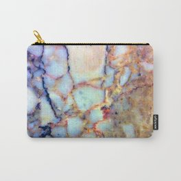 marble effect 007 (blue) Carry-All Pouch